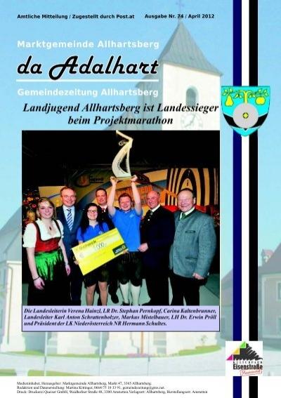 Allhartsberg single - Singles kennenlernen aus bad leonfelden
