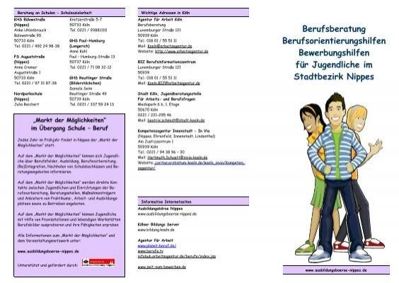 Berufsberatung Berufsorientierungshilfen Bewerbungshilfen Für
