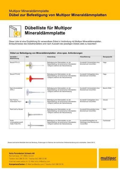 D Belliste F R Multipor Minerald Mmplatte Ytong