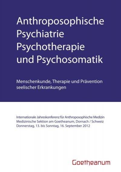 Anthroposophische psychiatrie psychotherapie und psychosomatik - Anthroposophische mobel ...