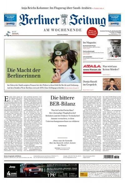 Berliner Zeitung 24 11 2018