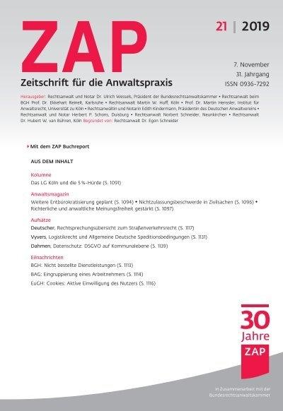deutsch zap 2019