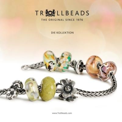 Sanddorn TROLLBEADS Silberbead Mai TAGBE-00031