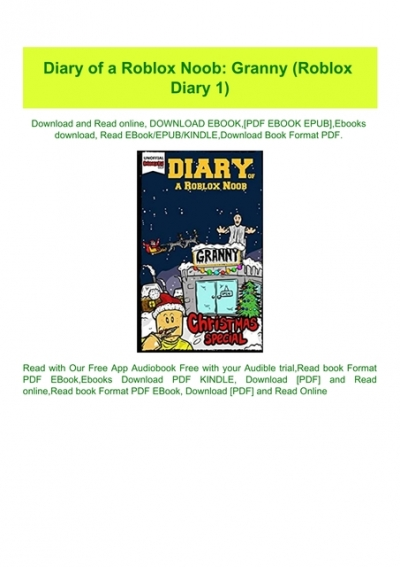 Read Diary Of A Roblox Noob Granny Roblox Diary 1 Free