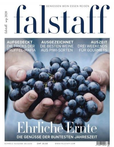 Falstaff Magazin Schweiz 06 2020