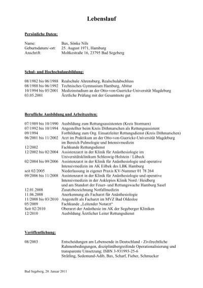 Groß Hha Lebenslauf Zeitgenössisch - Dokumentationsvorlage Beispiel ...