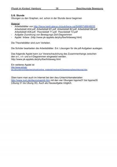 Physik im Kontext: Hambur
