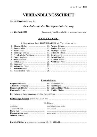 Ausgezeichnet durch das Musikerjahr - Musikverein Lasberg