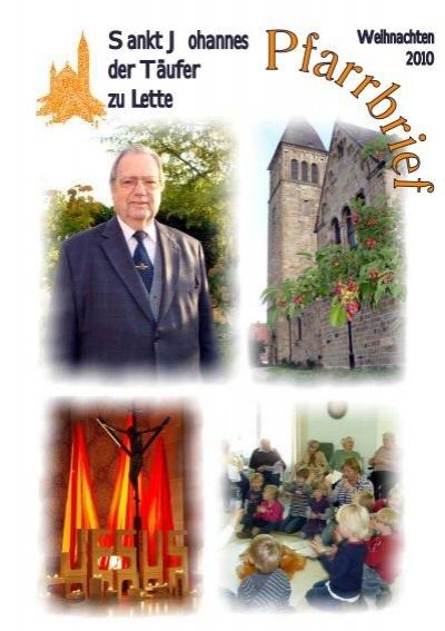 Pfarrbrief 2010 Cdr St Johannes Lette