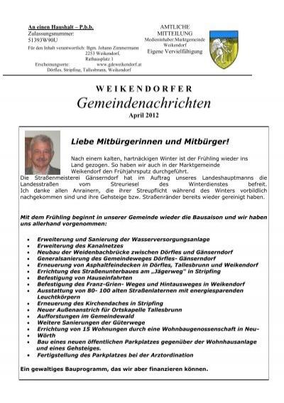 Ort Weikendorf - Seite 4 - autogenitrening.com