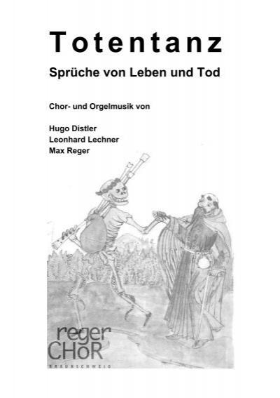 Totentanz Spruche Von Leben Und Tod Regerchor Braunschweig Ev