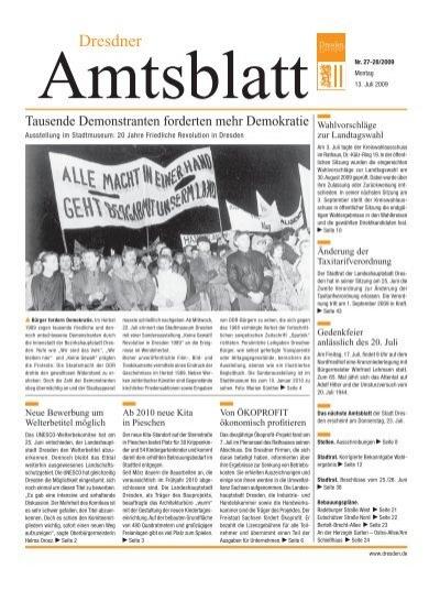 Dresden 6 Dresdner Amtsblatt