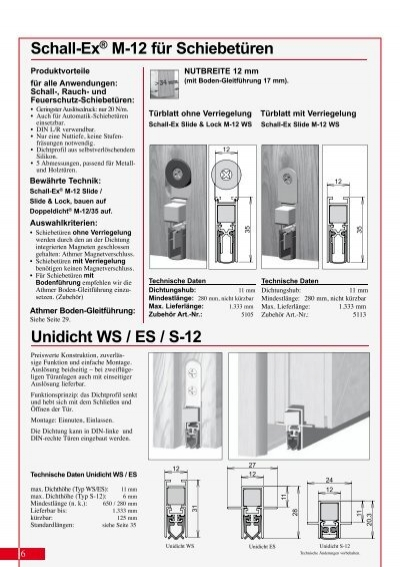 6 schall ex m 12 f r. Black Bedroom Furniture Sets. Home Design Ideas