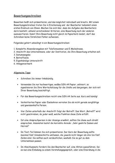 Tipps Für Erfolgreiche Bewerbungsschreiben Intercolorat