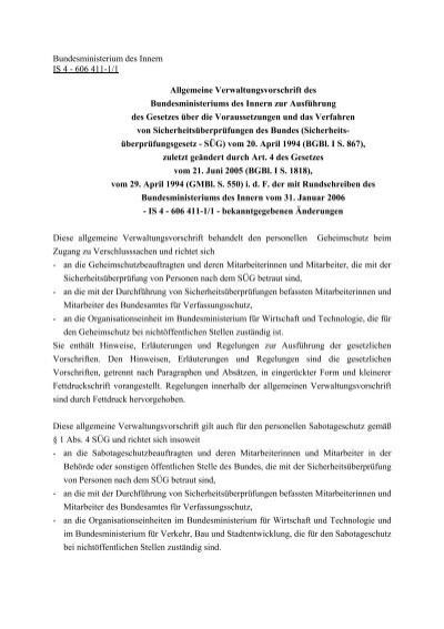 Ü3 referenzpersonen sicherheitsüberprüfung Verfassungsschutz: Bericht