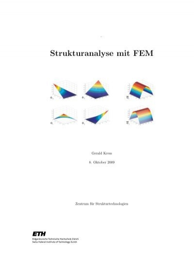 140 modellierung von stru for Steifigkeitsmatrix fem