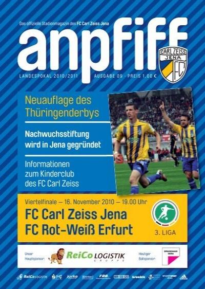 Programm 2005//06 FC Carl Zeiss Jena SG Wattenscheid