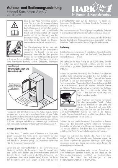 dauerbrand kaminofen hark 17 f aufbau und. Black Bedroom Furniture Sets. Home Design Ideas