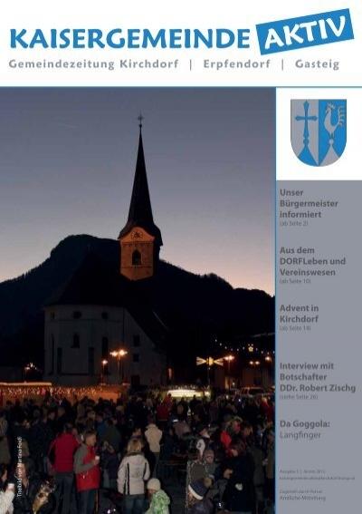 Singles und Kontaktanzeigen aus 6383 Kirchdorf in Tirol