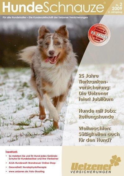 Jubiläum Mit Jobs Feiert Uelzener VersicherungDie Hunde ED92HI
