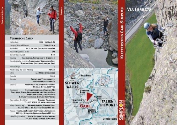 Klettersteig Comer See : Klettersteig gabi simplon via ferrata