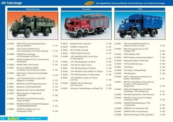 kit KIBRI 13570 Kaelble tracteur avec routes roller h0