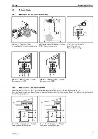 elektrischer anschluss 4. Black Bedroom Furniture Sets. Home Design Ideas