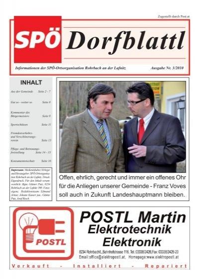 Rohrbach an der lafnitz christliche singles - Reiche mnner