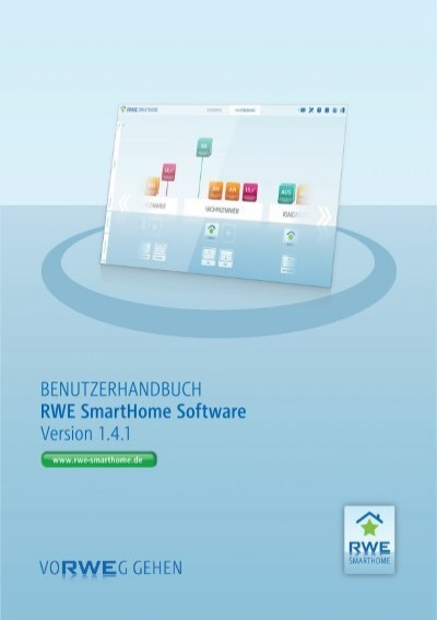 benutzerhandbuch rwe smarthome software version 1 4 1. Black Bedroom Furniture Sets. Home Design Ideas