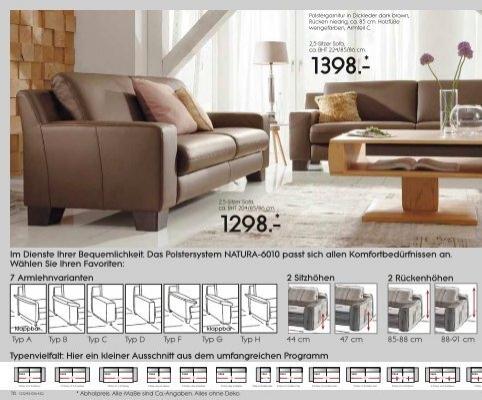 2,5-Sitzer Sofa, ca. BHT