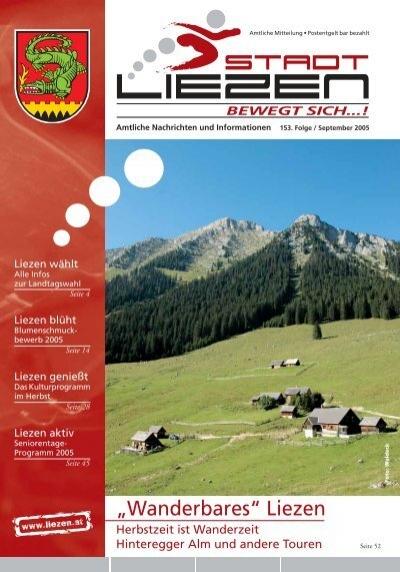 Liste der Veranstaltungen in Liezen - comunidadelectronica.com