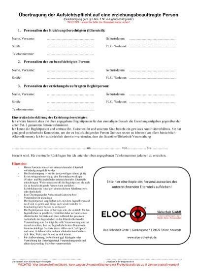 download formular zur bertragung der aufsichtspflicht. Black Bedroom Furniture Sets. Home Design Ideas