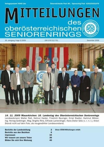 Grndungsfest 50 Jahre Goldhaubengruppe Mauerkirchen