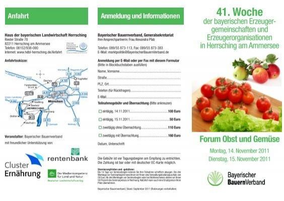 41 Woche Im Haus Der Bayerischen Landwirtschaft Herrsching