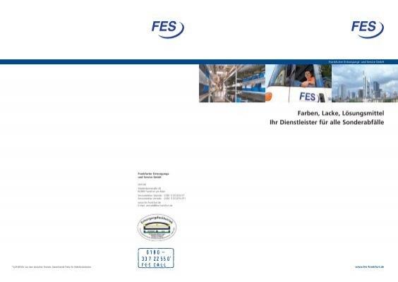 Sonderabfall entsorgung fes frankfurter entsorgungs - Mobel entsorgung gratis ...