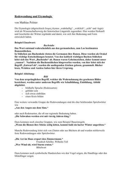 Sprichwörter und ihre bedeutung pdf