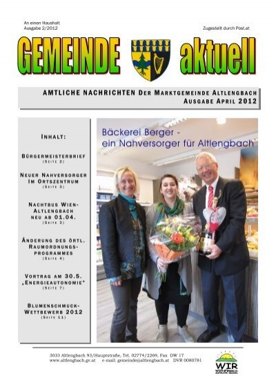 Altlengbach in Pielachtal - Thema auf autogenitrening.com