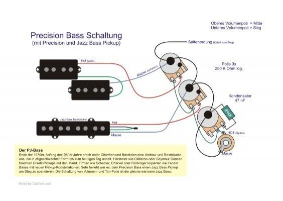 Ziemlich Verkabelung Bass Pickups Ideen - Der Schaltplan - greigo.com