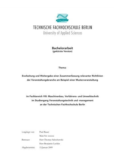 Bachelorarbeit Pdf 742kb Paul Bauer