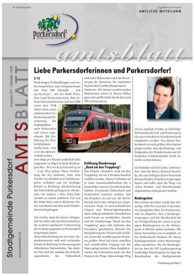 Leute | Beitrge zur Rubrik aus Purkersdorf - intertecinc.com