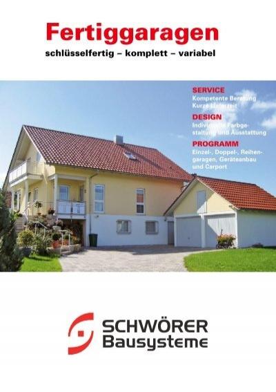 prospekt schw rer bausysteme gmbh. Black Bedroom Furniture Sets. Home Design Ideas