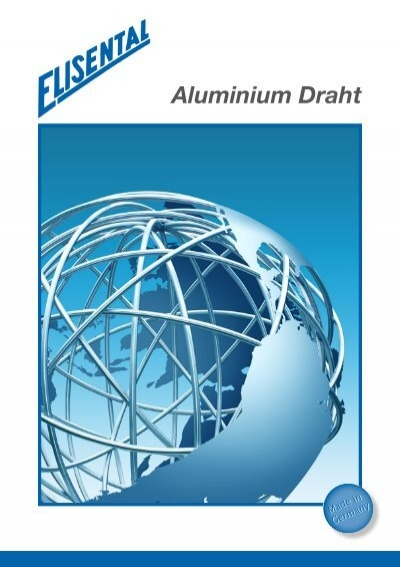 Aluminium-Draht Hauptprospekt