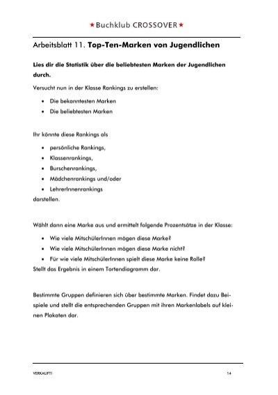 Arbeitsblatt 10. Slogan