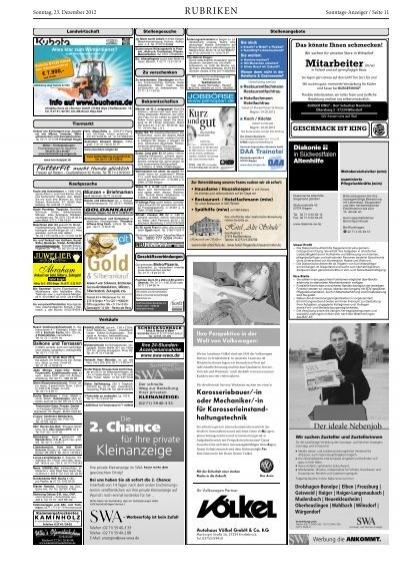 Seite 10 Sonntags Anzeig