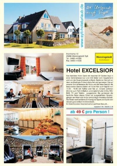 hotel excelsior wenningstedt wohn design. Black Bedroom Furniture Sets. Home Design Ideas