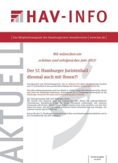 Sonderheft 1/2013 - HAV