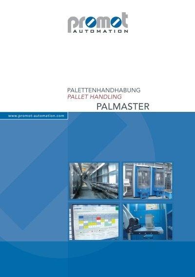 THE PALMASTER MODULE SYSTEMS - Promot Automation