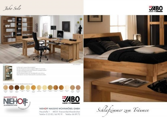 massive betten schr nke und m bel von jabo niehoff. Black Bedroom Furniture Sets. Home Design Ideas
