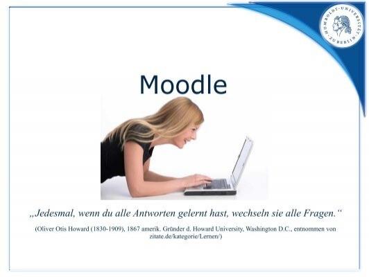 Moodle Informatik In Bildung Und Gesellschaft Humboldt
