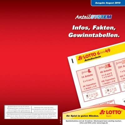 lotto system preise